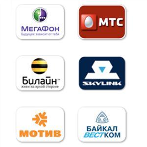 Операторы сотовой связи Лесозаводска